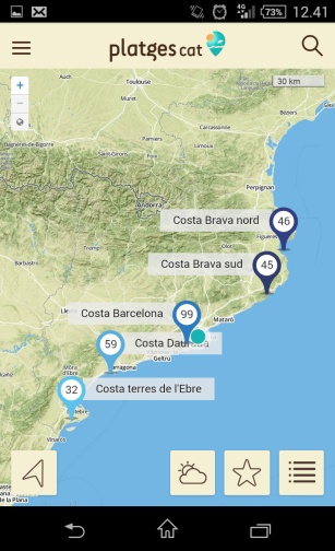 detall mapa platgesCAT