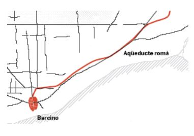 Traçat de l'aqüeducte